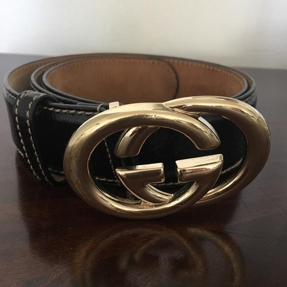 21ff1dd17ed Gucci Accessories - Authentic Gucci Belt Black Leather